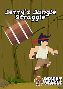 Jerry's Jungle Struggle cover art with G classification by Desert Beagle